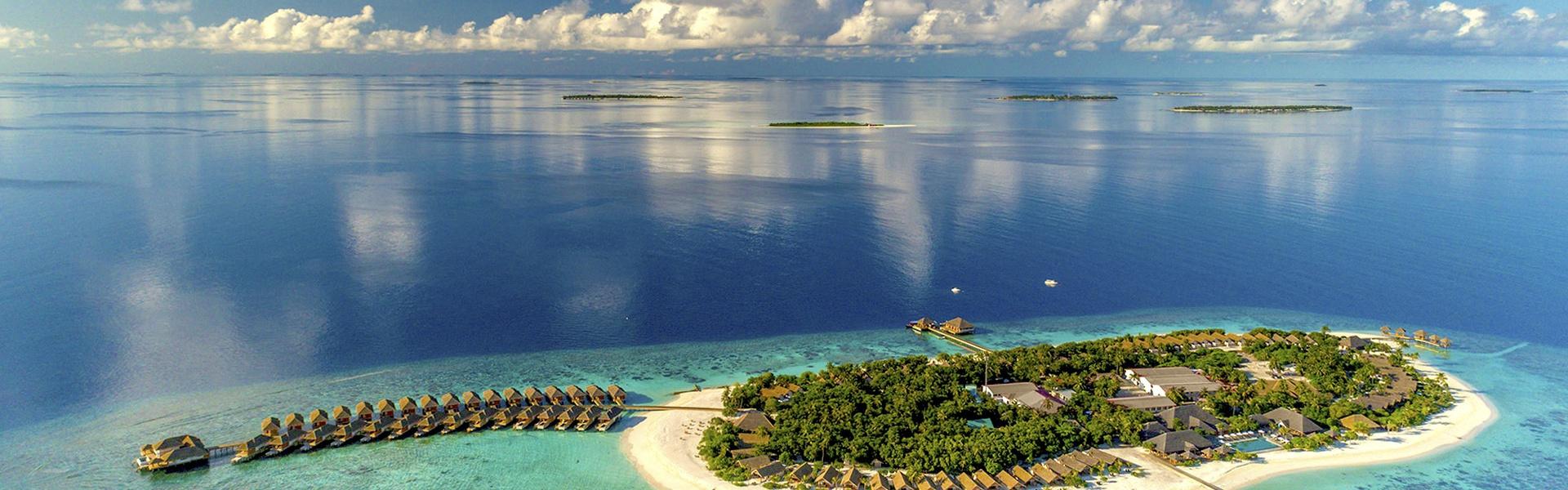 Мальдивы... Роскошные виллы на воде!