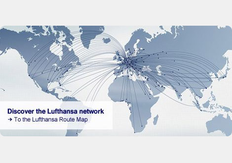Lufthansa Route Map Lufthansa Route Map   Lufthansa Group Aviation
